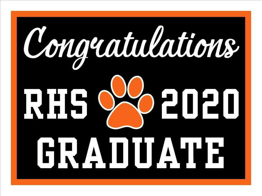 Ridgefield High School's roughly 400 seniors will graduate with a series of unusual, social distanced events — starting Friday, June 12. Photo: Contributed Photo