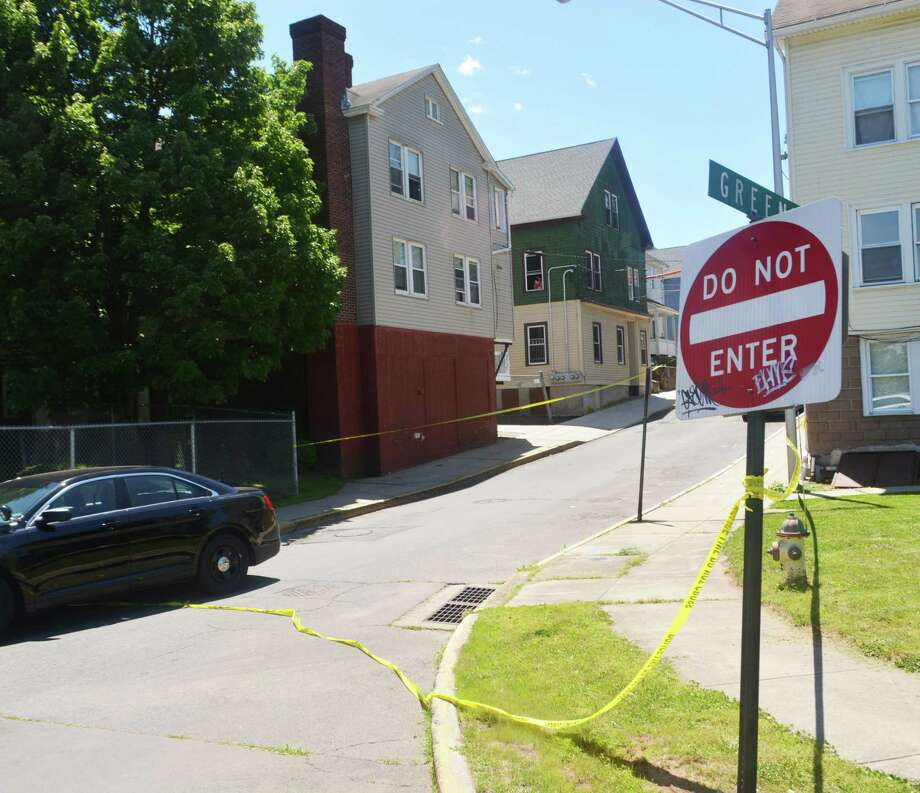 Middletown police are investigating the death Monday of Green Street resident Quanisha Burruss, a stabbing victim and mother of two. Two GoFundMe drives are gathering donations for the family. Photo: Cassandra Day / Hearst Connecticut Media