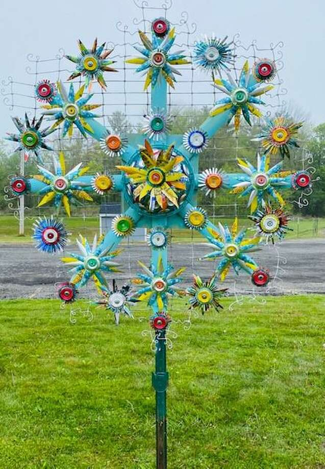 "The Goshen Business Circle, in partnership with Region 6, is aunching the Goshen Flower Garden Project to stir up some creativity and fun in this rather challenging time at home. This results from the formation of the GBC'S newly established Arts committee and its first project… LOLA, ""Love our Local Arts"". Photo: Contributed Photo"