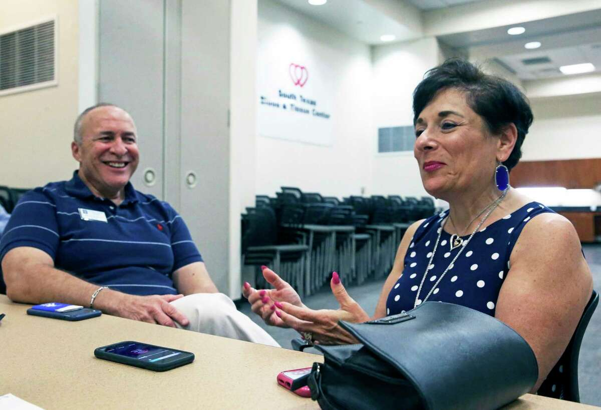 """Dina LaRocca Murphy and her husband, Brian, have become """"super donors"""" at the South Texas Blood & Tissue Center. They provide plasma that can help COVID-19 sufferers heal faster."""