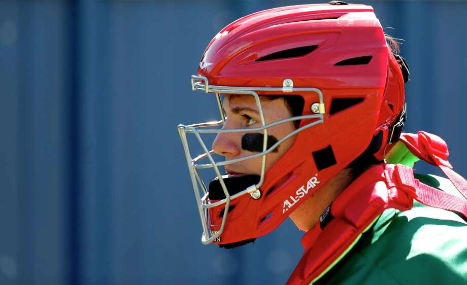 The Woodlands catcher Drew Romo was selected 35th overall by the Colorado Rockies. Photo: Jason Fochtman, Houston Chronicle / Staff Photographer / Houston Chronicle  © 2020
