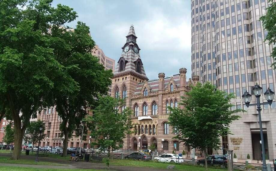 New Haven City Hall June 2020 Photo: Helen Bennett / Hearst Connecticut Media
