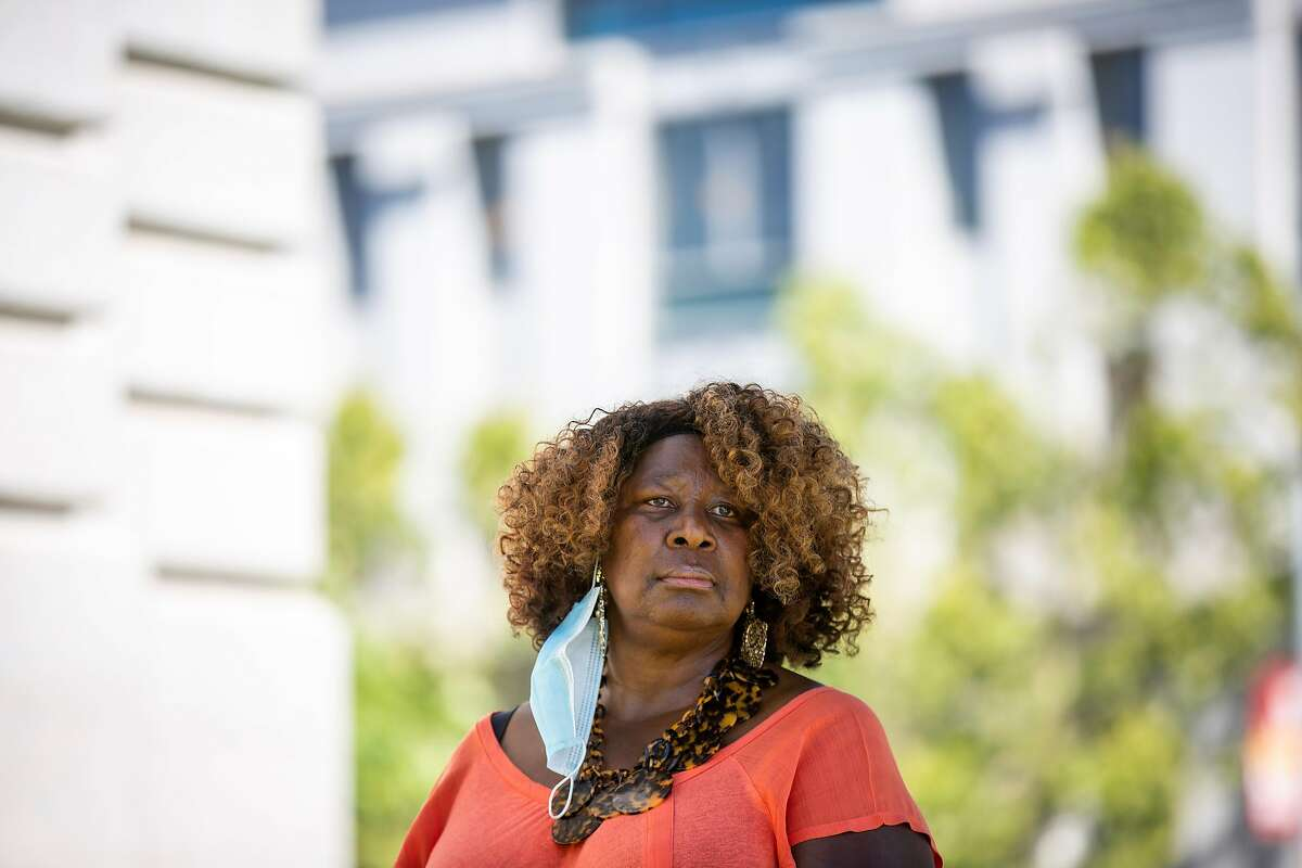A portrait of Phelicia Jones on Tuesday, June 9, 2020, in San Francisco, Calif. Jones is the founder of the Wealth and Disparities in the Black Community organization.