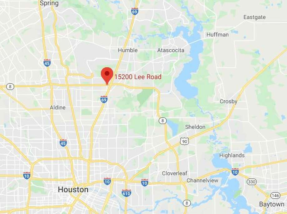 A woman and 3-year-old boy died Wednesday in a crash in the 15200 block of Lee Road in north Houston, police said. Photo: Google Maps