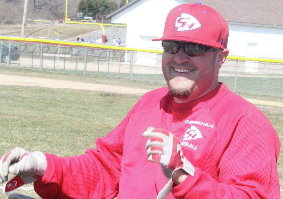 Ben Wright was coach of the 2013 Chippewa Hills state semifinalist baseball team. (Pioneer file photo)