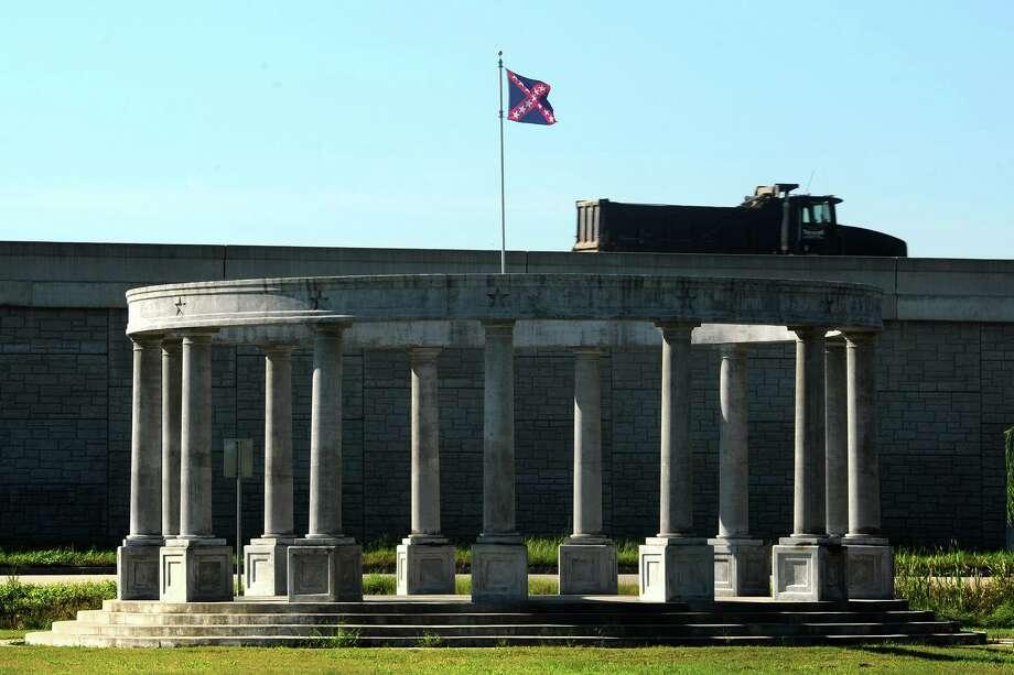 The Confederate memorial in Orange.  Photo taken Thursday, September 15, 2016 Guiseppe Barranco/The Enterprise Photo: Guiseppe Barranco, Photo Editor / Guiseppe Barranco/The Enterprise