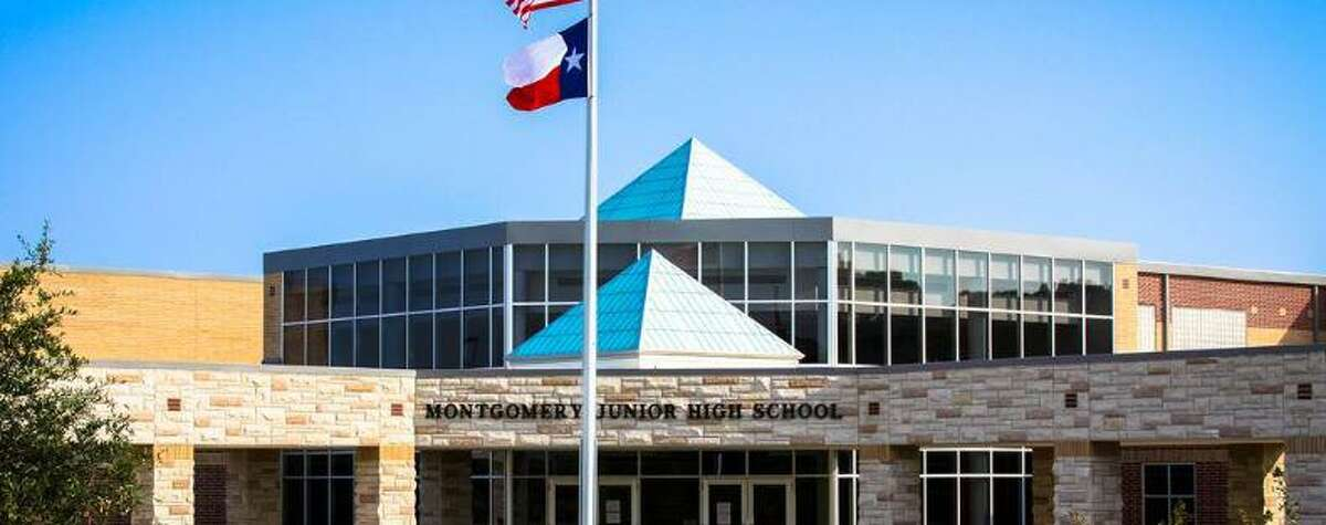 Property damage exceeding $300,000 done at Montgomery Junior High School has led to two girls being charged.