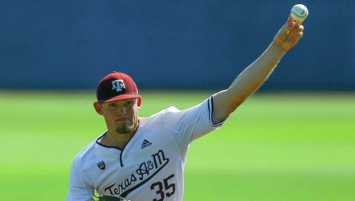 A&M left-hander Asa Lacy, a Kerrville Tivy graduate, was hoping to go No. 1 to the Detroit Tigers or to the Kansas City Royals. He got his wish as the Royals selected him No. 4 overall.