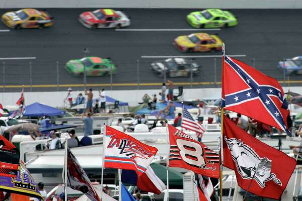 NASCAR recently banned the Confederate flag from its races and events, which the organization says hopefully will make the sport a more welcoming space. The move was met with criticism across Twitter and other platforms.