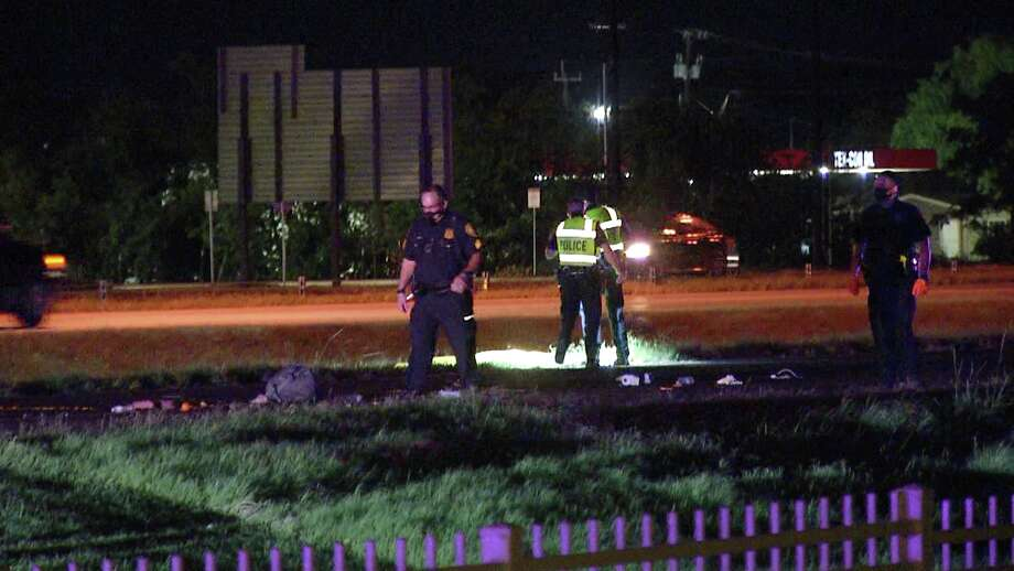 One man is dead after getting hit by a vehicle on the South Side Thursday night. Photo: Ken Branca