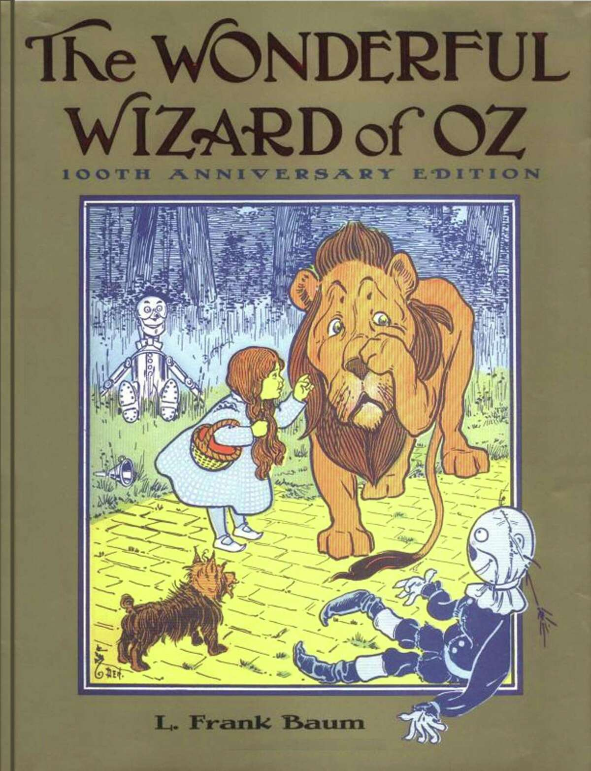 'The Wonderful Wizard of Oz,' the book chosen for a townwide reading program.
