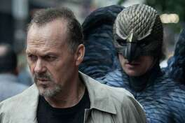 """Michael Keaton soars in """"Birdman or (The Unexpected Virtue of Ignorance)."""""""