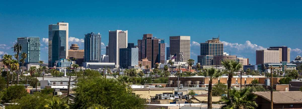 The Phoenix metro area is expected to see the third biggest drop in the number of apartment units completed in 2020 compared to last year. The city is projected to have 5,665 new units finished this year, a drop of about 37% compared to 2019.
