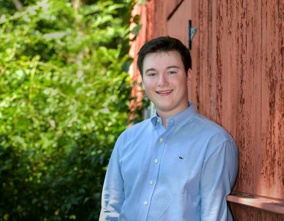 Patrick Burke of Wilton has been awarded a $1,000 scholarship from the Drum Hill Chapter of the National Society of the Daughters of the American Revolution. Photo: Contributed Photo
