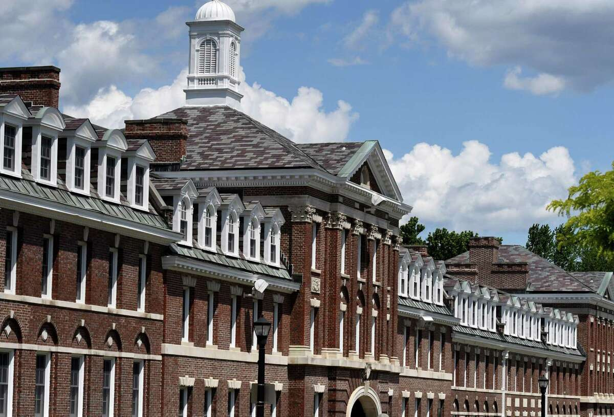 View of the Rensselaer Polytechnic Institute campus on 15th Street on Friday, June 12, 2020, in Troy, N.Y. (Will Waldron/Times Union)