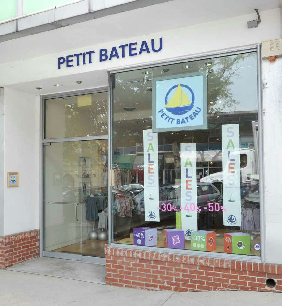 Petit Bateau at 84 Greenwich Avenue as seen Wednesday, August 18, 2010.