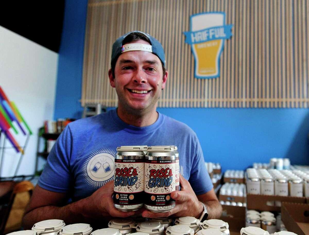 Conor Corrigan of Half Full Brewery.