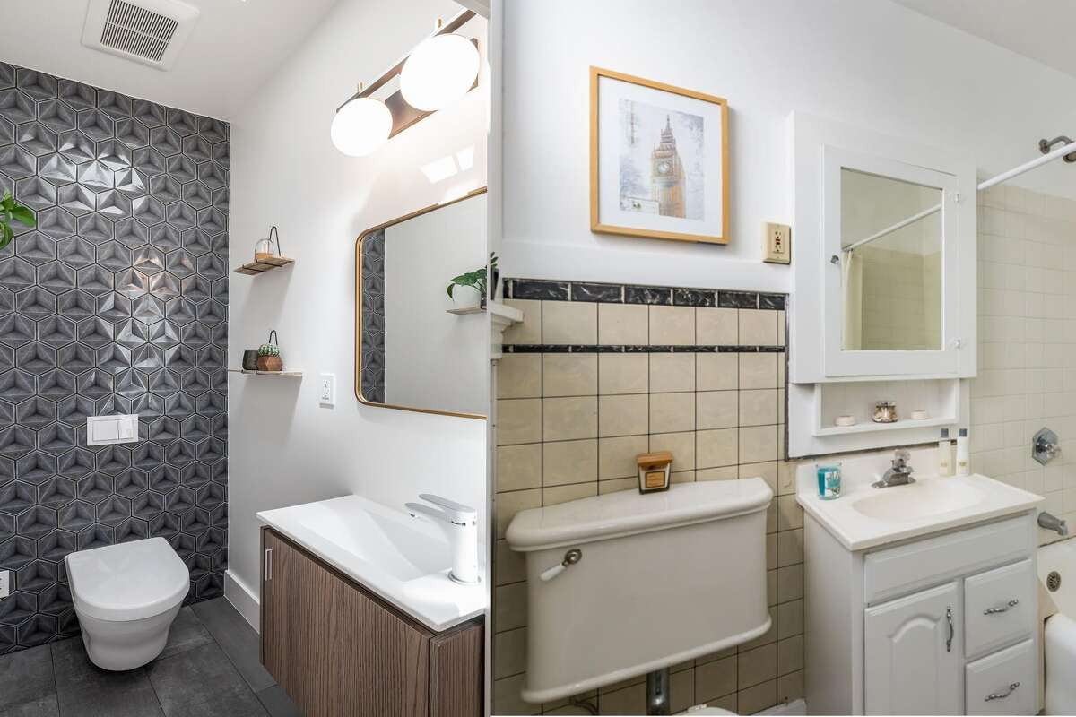 Revamped bathrooms now feature designer Italian porcelain tiles.