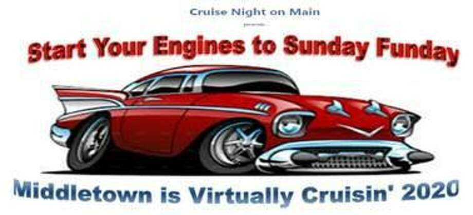 Cruise night is an actual ride around Middletown this year. Photo: Contributed Photo