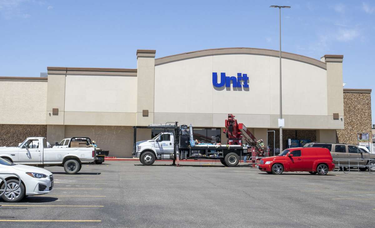 The Albertsons Market signage changed to United Supermarkets on Friday, June 12, 2020 at 3317 Midland Drive.