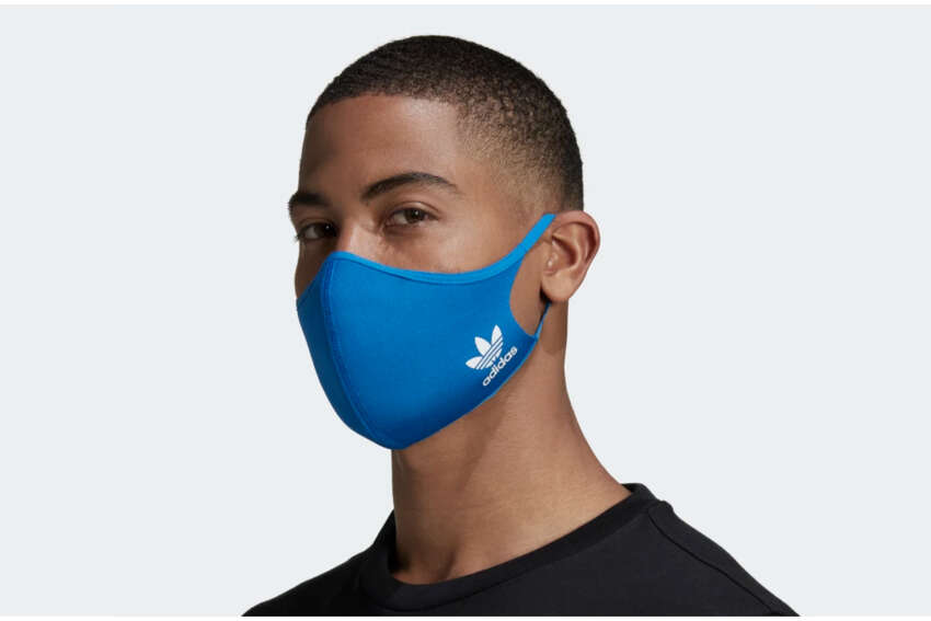 Adidas Face Covers M/L 3-pack $16Adidas Available June 15