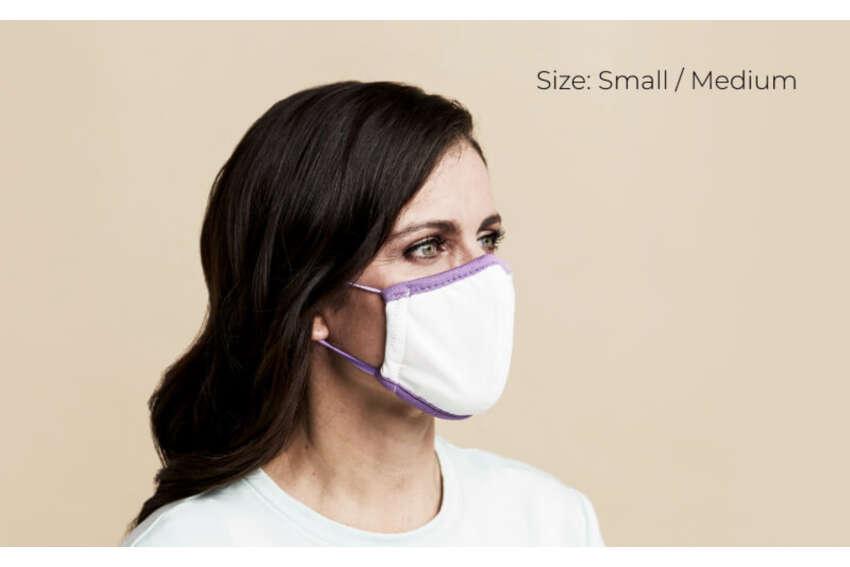 Purple face mask 2-pack $20Purple