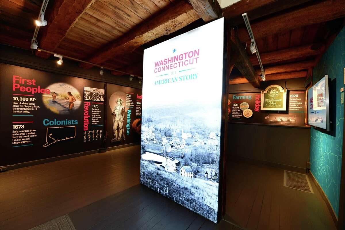 """The Gunn Historical Museum in Washington has been recognized with three awards for its exhibit, """"Washington Connecticut - An American Story."""" The book is by Philip Dutton."""