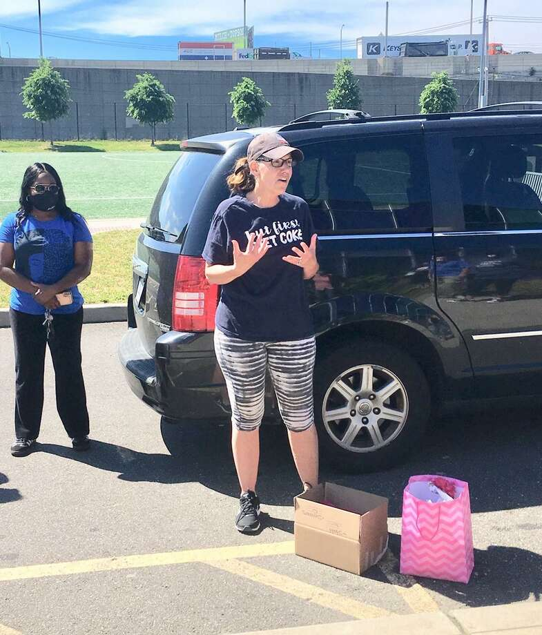 Roosevelt Principal Jackie Simmons. June 21, 2020 Bridgeport Photo: Linda Conner Lambeck