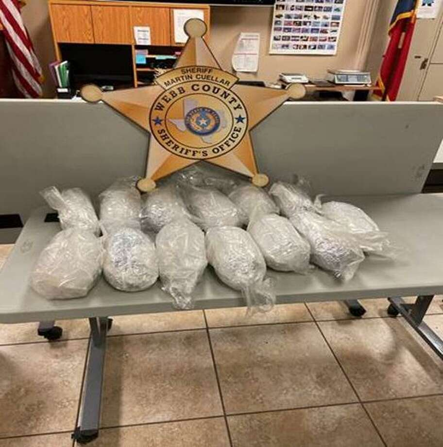 The Webb County Sheriff's Office seized $418,000 in cocaine on Thursday. Photo: Courtesy Of The Webb County Sheriff's Office