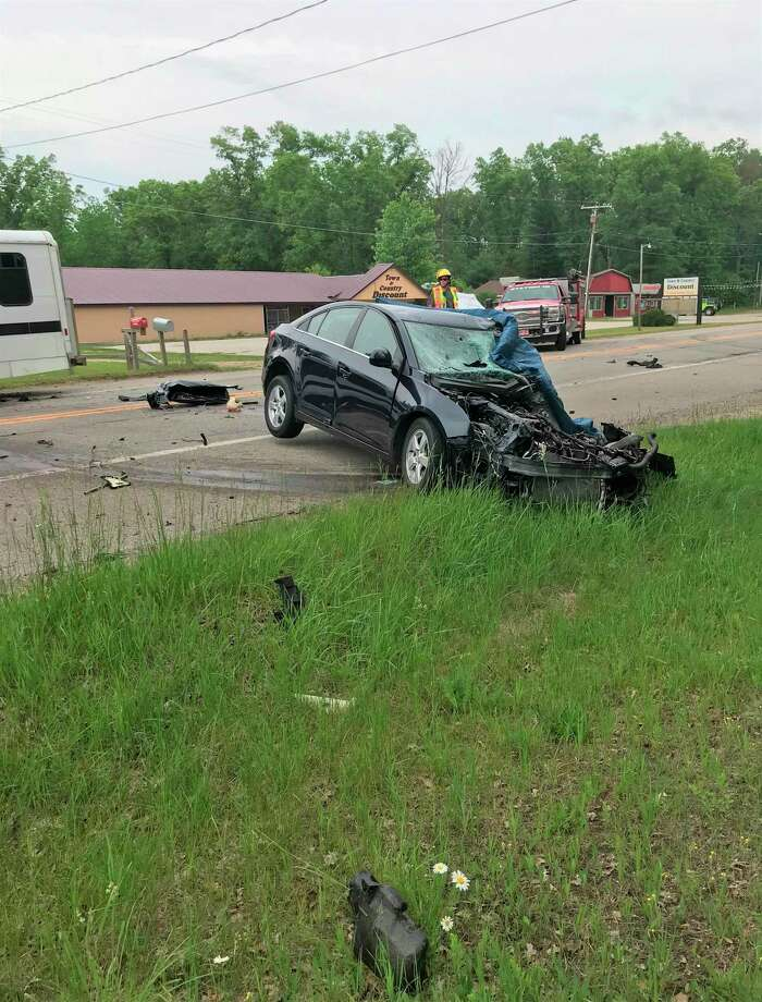 A deadly collision in Norman Township this week has prompted residents and local business leaders to call for the speed limit be lowered on M-55. (Courtesy Photo)