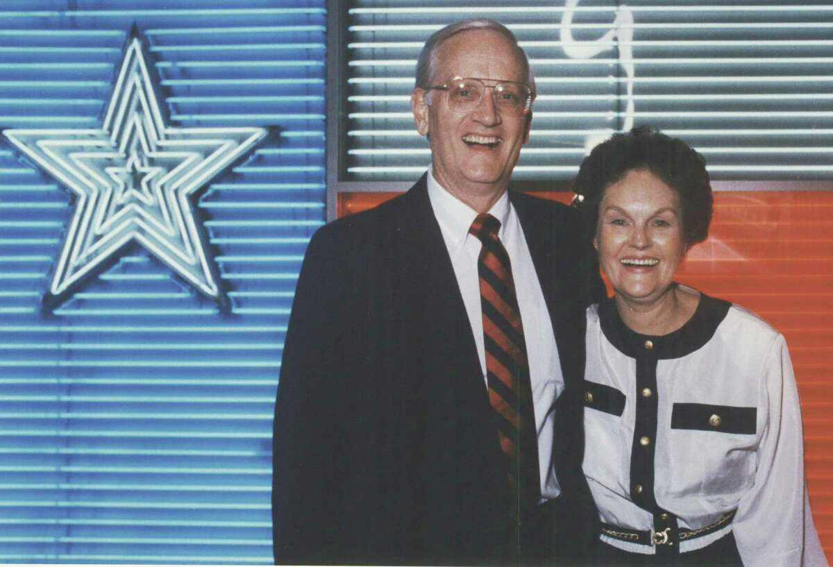 Judge William Sessions and his wife, Alice.