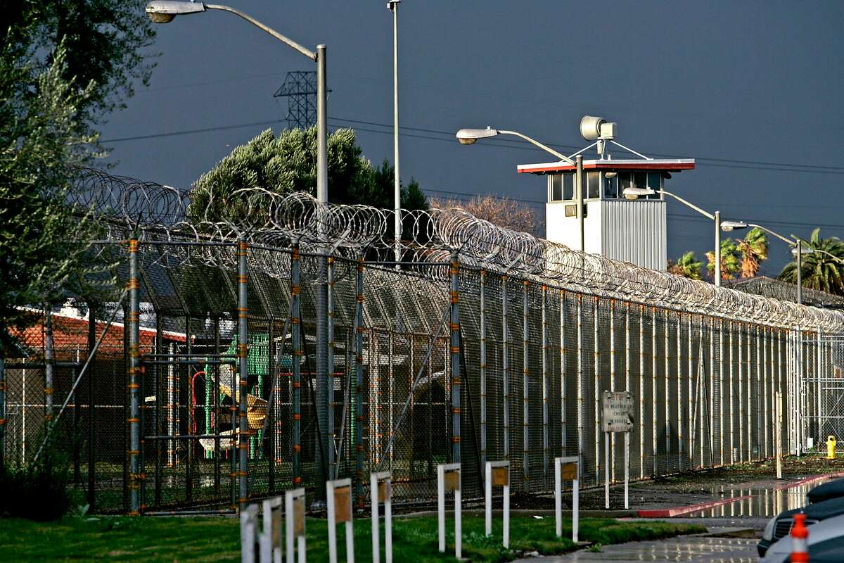 The California Institution for Women Chino, here in a January 2010 file image, has seen 105 inmates and four staff members test positive for COVID-19.