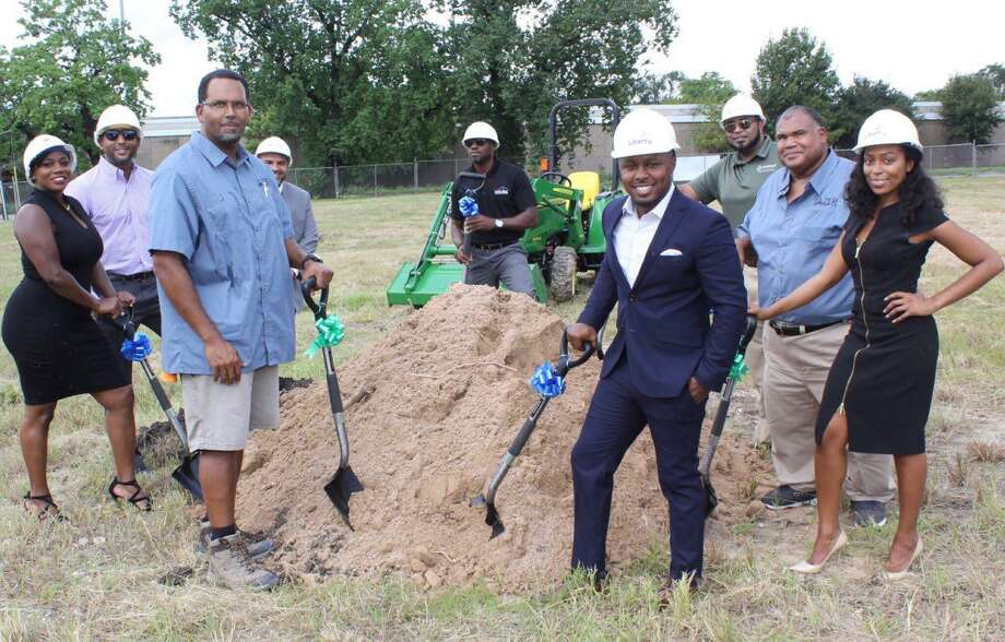 Real Estate developer Chris Senegal works with broker, Jay Bradley, and the Cocoa Collective Xchange to bring black-owned businesses into Fifth Ward neighborhoods,  calling the mission, Buying the Block. Photo: Buying The Block/Chris Senegal