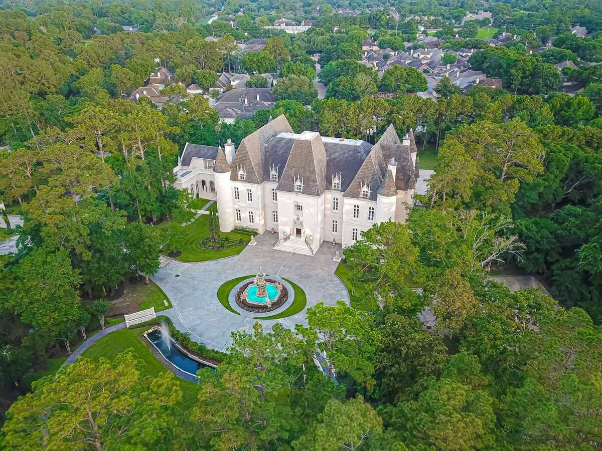 This 37,000-square-foot estate in Champions was originally built as a single-family residence. A subsequent owner turned it into an event venue called Chateau Cocomar.
