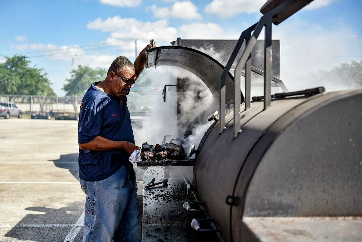 Pitmaster Ray Busch of Ray's BBQ Shack