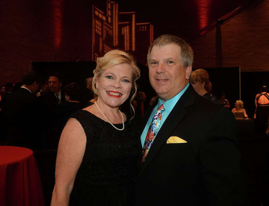 Kelly and John Carder were at the Christus of Southeast Texas Foundation's 37th annual Christus Gala at the Beaumont Civic Center Saturday. Grammy winning country music star Keith Urban entertained following a cocktail hour and dinner. The black tie affair was sold out as attendees wined, dined, enjoyed the entertainment while helping raise funds for the foundation's healing ministry. Photo taken Saturday, April 22, 2017 Kim Brent/The Enterprise Photo: Kim Brent / Kim Brent/Beaumont Enterprise / BEN