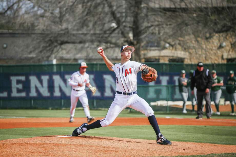 Former Magnolia West pitcher Connor Phillips was selected in the second round of the MLB draft by the Seattle Mariners. Photo: McLennan Athletics