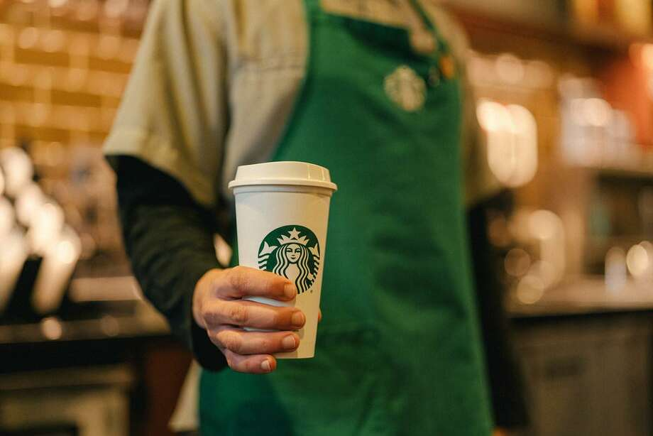A barista at a San Diego Starbucks received over $60,000 on GoFundMe after a woman tried to shame him on Facebook for asking her to wear a mask in the coffeeshop. Photo: Associated Press