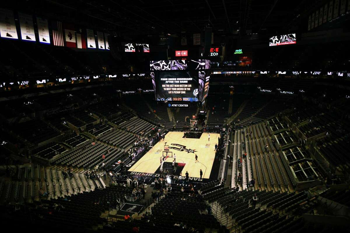 Concessions contractor Aramark recently notified the Texas Workforce Commission that it plans to lay off or terminate 287 employees at the AT&T Center.