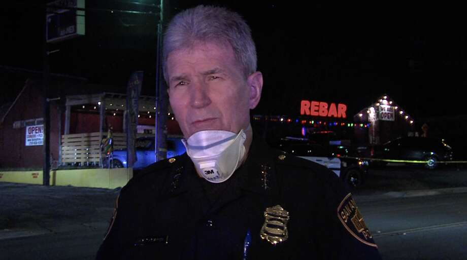 According to SAPD, 8 people were shot at a bar located on the North Side late Friday night. Photo: 21 Pro Video