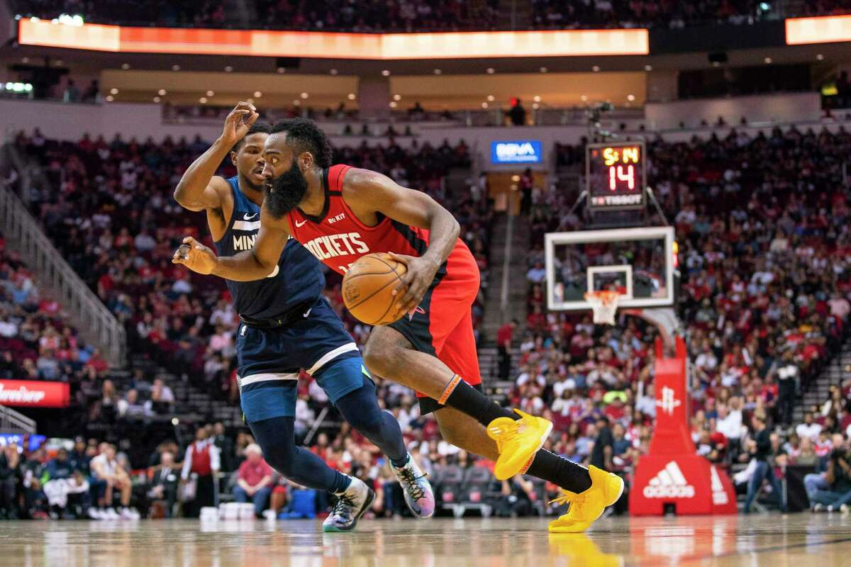 When James Harden and the Rockets return, one of the first tasks will be to make sure the team is in 'basektball' shape.