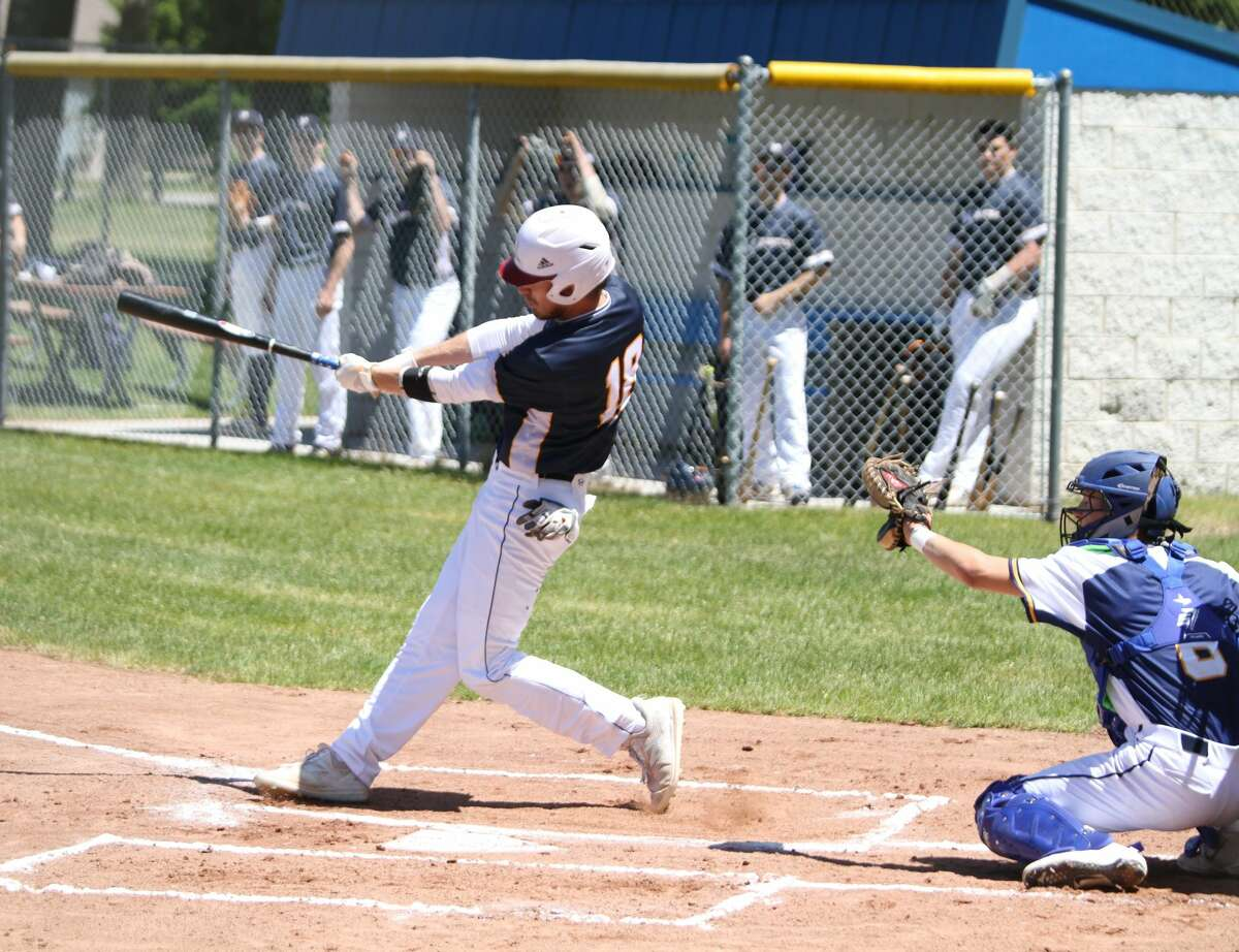 The Manistee Saints hosted a Meet the Team Day and scrimmage Saturday at Rietz Park after the team's weekend series against the Oil City Stags was canceled due to unforeseen circumstances.