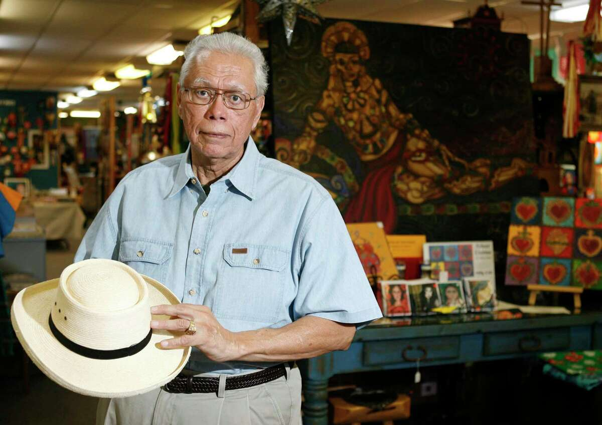 Macario Ramirez, pictured here in 2008 at his Casa Ramirez store in the Heights.