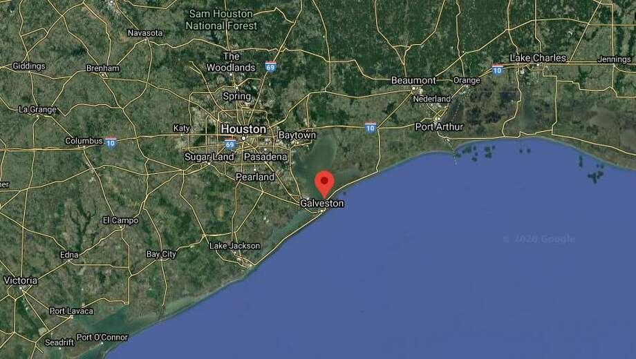 At least six people were injured in a three-car crash near Crystal Beach, according to the Galveston County Sheriff's Office. Photo: Google Maps