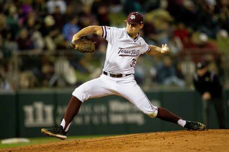 Asa Lacy  is the highest-drafted Texas A&M player ever, going fourth overall to the Kansas City Royals. He joins a list of successful Aggies pitchers making the jump to professional baseball.