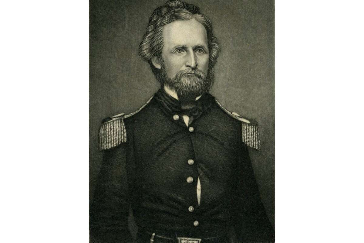 Brigadier General Nathaniel Lyon, the first Union general killed in the Civil War and the namesake of San Francisco's Lyon Street.