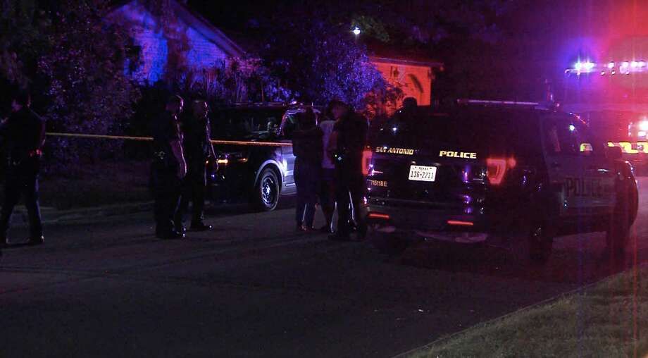 According to SAPD, three people were shot at a graduation party Saturday evening on the East Side. Photo: 21 Pro Video