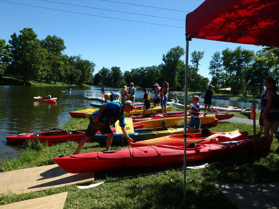 In this file photo: Attendees enjoy a previous kayaking event put on by the Maryville Parks and Recreation Department, with the help of enthusiast Craig Heaton. Photo: Courtesy Of Maryville Parks And Recreation
