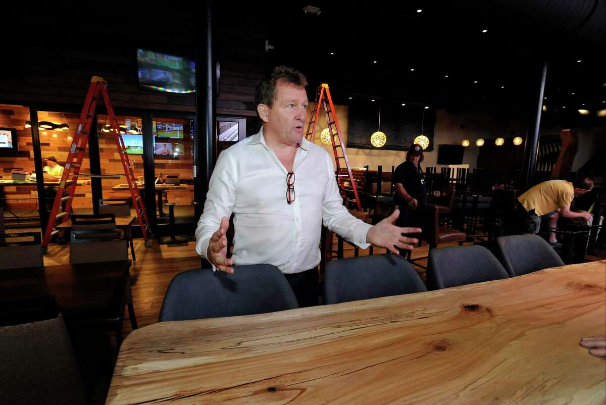 Ted Taylor, President of Sportech Venues, talks about some of the new innovations being introduce in the new Bobby V's, a sports bar, restaurant, and OTB lounge in Stamford.