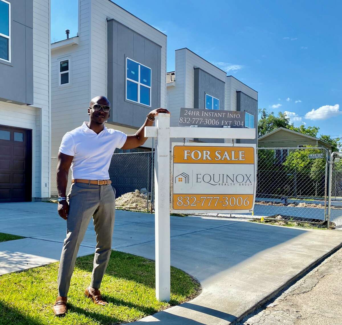 Houston real estate broker, Jay Bradley has worked with Chris Senegal and Cocoa Collective Xchange to bring black-owned businesses into Fifth Ward neighborhoods.
